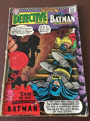 Batman With Robin The Boy Wonder #360. 1967. DC National Comics
