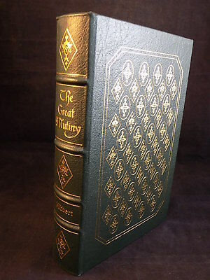 THE EASTON PRESS THE GREAT MUTINY by CHRISTOPHER HIBBERT LEATHER BOUND LIKE NEW
