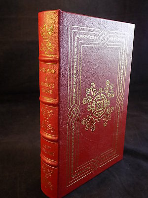 The Easton Press  Kesserling: A Soldier's Record Leather Bound Like New