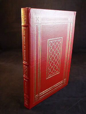 THE EASTON PRESS THE BRIDGE AT REMAGEN by KEN HECHLER LEATHER BOUND VERY GOOD