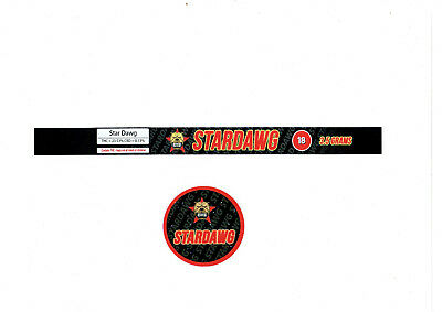 STARDAWG Cali Tin Labels Weed Stickers *Best Quality*