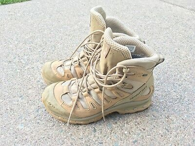 081498ab18f SALOMON QUEST 4D GTX Forces US 8.5 Mens Navajo Boots