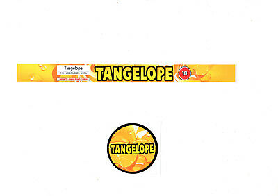 TANGELOPE Cali Tin Labels Stickers / Tuna Can Labels 100ml