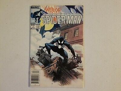 Web Of Spider-Man 1, Black Suit