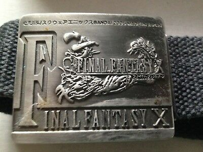 Final Fantasy belt