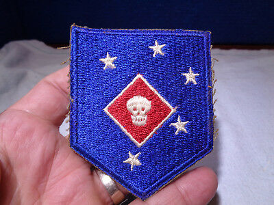~*~SOLDIER ESTATE~*~ Old WW II Military Patch Emblem #74