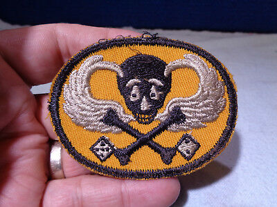 ~*~SOLDIER ESTATE~*~ Old WW II Military Patch Emblem #98