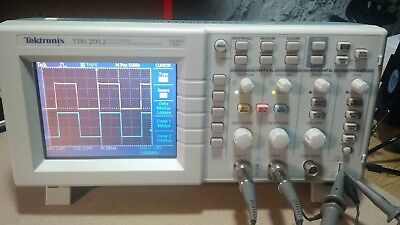 Teltronix TDS2012 Portable, 2 Ch, 100MHz, 1GS/s, Digital Real-Time Oscilloscope