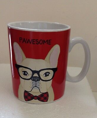 French Bulldog Mug With  Glasses