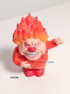 "Heat Miser by Yubi's Figurines The Year Without A Santa Claus 2.5"" mini figure!!"