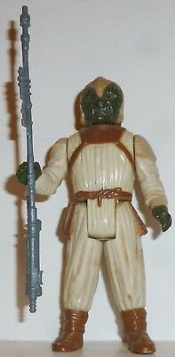 "KLAATU SKIFF GUARD Star Wars ROTJ Vintage 3.75"" Figure w/ Staff LOOSE Kenner '83"