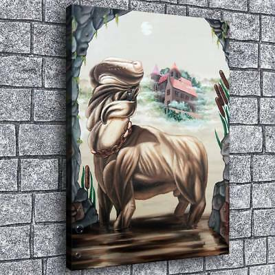 "12""x16""Abstract Character Painting HD Print on Canvas Home Decor Room Wall Art"