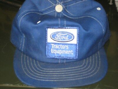 Vintage Ford Tractors Equipment Hat Used