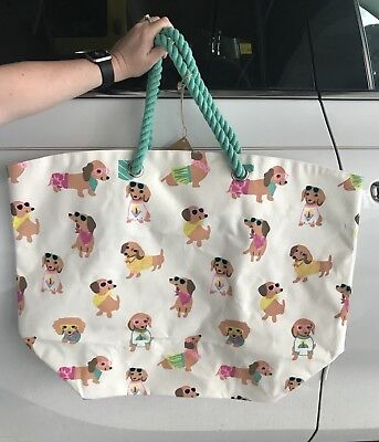 Dachshund Beach Bag