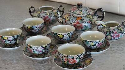 *Ancient Qing Dynasty Guangxu Emperor China- 1875-1908 *ANTIQUE Coffee/ Tea SET*