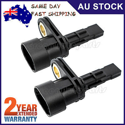 2 TWO Rear ABS Wheel Speed Sensor 92211237 For Holden Commodore VE Statesman WM