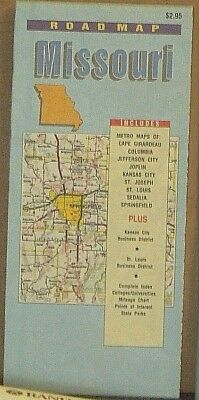 Late 1990's-Early 2000's Map Supply Road Map of Missouri