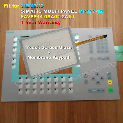 for SIEMENS SIMATIC MP377-15 6AV6644-5AB10-0BJ0 Touch Screen Glass with Film