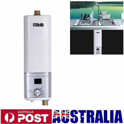 Camping Mini Portable Electric Hot Water Heater Shower System Instant 3500W