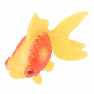 Aquarium Fish Tank Plastic Swimming Gold Fish Decoration 3 Pcs X2O5