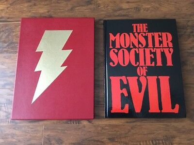 Shazam Monster Society Of Evil The Slipcase Hardcover Edition VF/NM