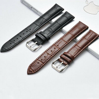 Men/women's Genuine Leather Watch Strap Band Alligator Grain many size and color