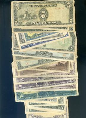 Quantity of Old Japanese Invasion Banknotes
