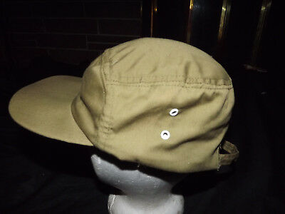 """Vintage Boy Scout Of America Hat Large 7 3/8"""" 7 1/2""""  7 5/8"""" Official Headwear"""