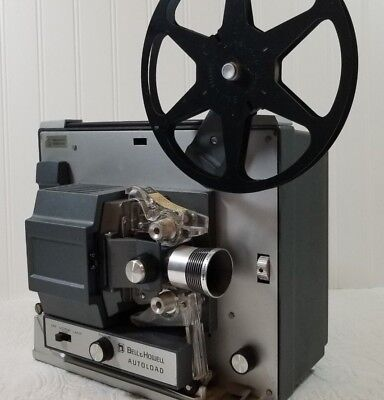 Bell & Howell Autoload 357B Super 8MM Vintage Film Projector Auto Needs Blub
