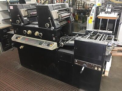 Itek 3985 Two color press with Crestline (Like Ryobi 3302)