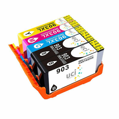 Lot Ink Cartridges UCI® FITS for HP 903XL Officejet Pro 6950 6960 6970 6975 AIO