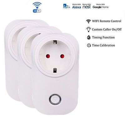 Wlan WIFI Smart Home Steckdose Apollo Series iOS Android App 1-4er Pack Automati