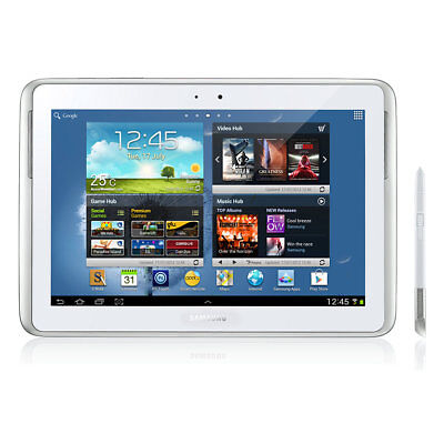 16GB Samsung Galaxy Note 10.1 N8000 (WiFi+3G) - Black/ White Tablet AU