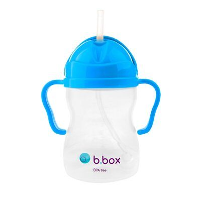 B.BOX Sippy Cup Cobalt NEON Edition 6m+ 240ml Baby Toddler Drinking Bottle