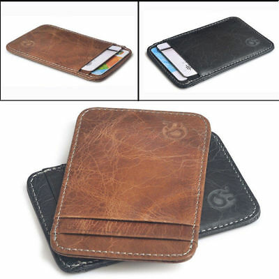 Portable Mini Wallet Card Packet Case Purse Slim Wallet Credit Card HolderUnisex