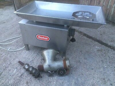Berkel Meat Mincer Grinder Butchers Equipment