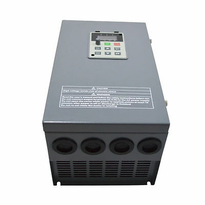 3PH 380V 15KW 20HP Variable Frequency Drive Motor Inverter VFD 32A 400Hz