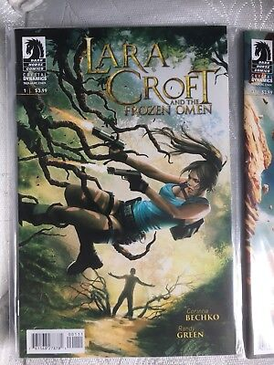 Lara Croft And The Frozen Omen Issues 1-5 - Bagged
