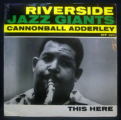 """7""""-Single CANNONBALL ADDERLEY - this here, part 1 / 2"""