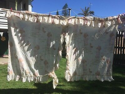 Vintage Hollie Hobbie Curtains