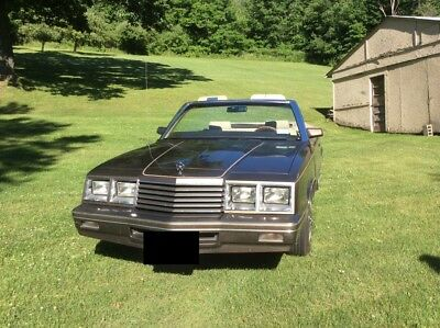 1984 Dodge Other  1984 Dodge 600 Convertible
