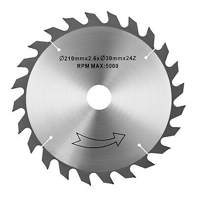 Spare Saw For Table Saw Professional Saw-Blade Ø210 mm Bore Ø30 mm Steel