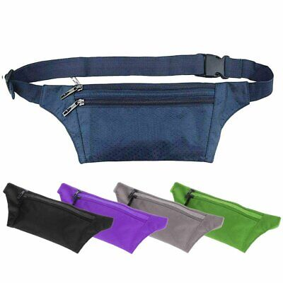 Sports Fanny Pack Waist Bag Belt Bum Pouch Wallet Running Jogging Cycling Travel