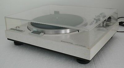 Rare Legendary Trio Kenwood KD-650 Direct Drive Turntable with Original Manual