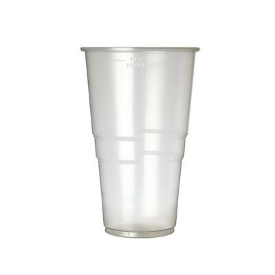 Disposable Pint Glass 20oz To Line (Pack of 1000) (Next working day UK Delivery)