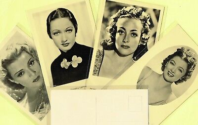 ROSS VERLAG - 1930s Film Star Postcards produced in Germany #A1451 to #A1660