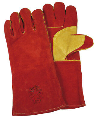 SWP Swp Red/Gold Welders Gauntlets 1942