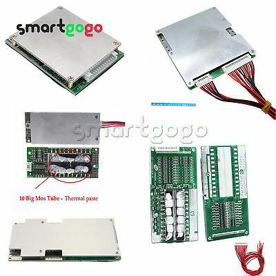 3/4/13/16/20/24S BMS PCB Protection Board  Used for 18650 Lithium Battery BSG