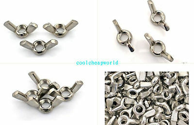Metric DIN315 M3 M4 M5 M6 M8 M10 Stainless Steel Wing Nut Butterfly Nut
