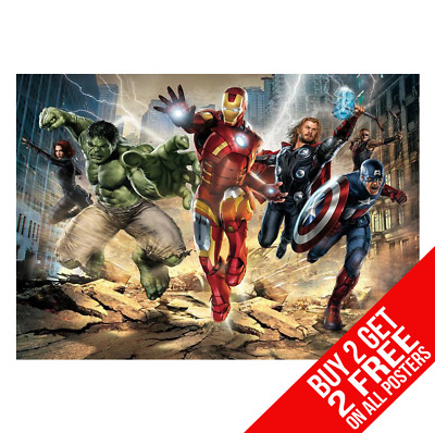 Avengers Marvel Poster Art Print A4 A3 Size - Buy 2 Get Any 2 Free